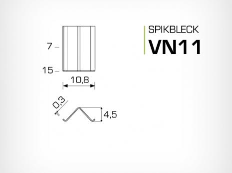 Spikbleck VN11 - Tavelram