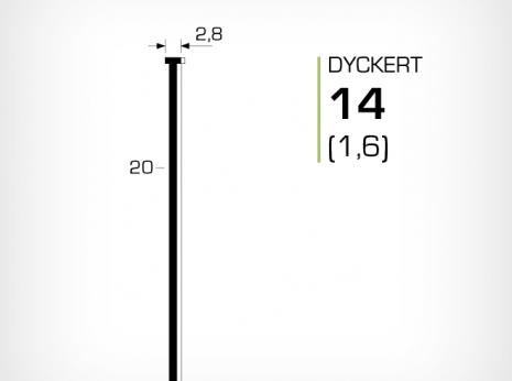 Dyckert 14 (1,6) till dyckertpistol