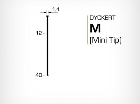 Dyckert m eller mini tip till dyckertpistol