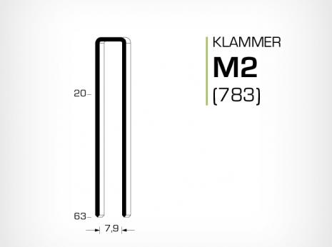 Klammer M2 och 783