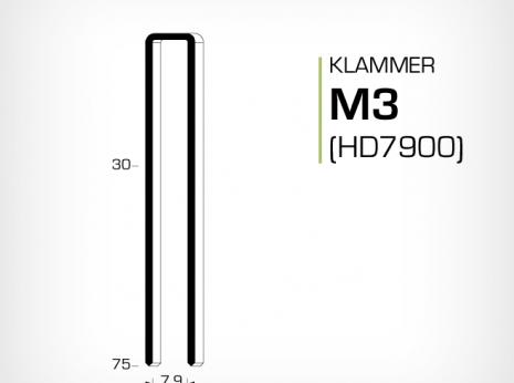 Klammer M3 och HD700 serien