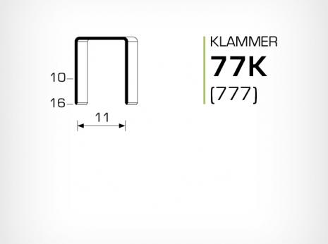 Klammer 77K och JK777
